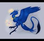 Request: Blue bird dragon