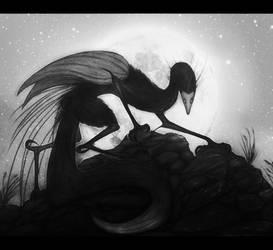 AT:She Stalks by WhiteRose2132