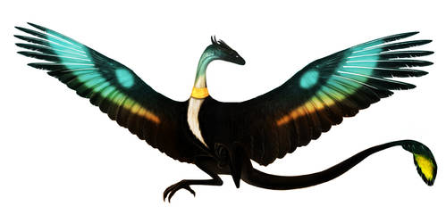 Contest entry: Young forest wyvern by WhiteRose2132