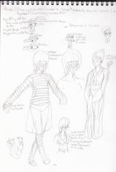 SBook Aruka Doodles by Idene