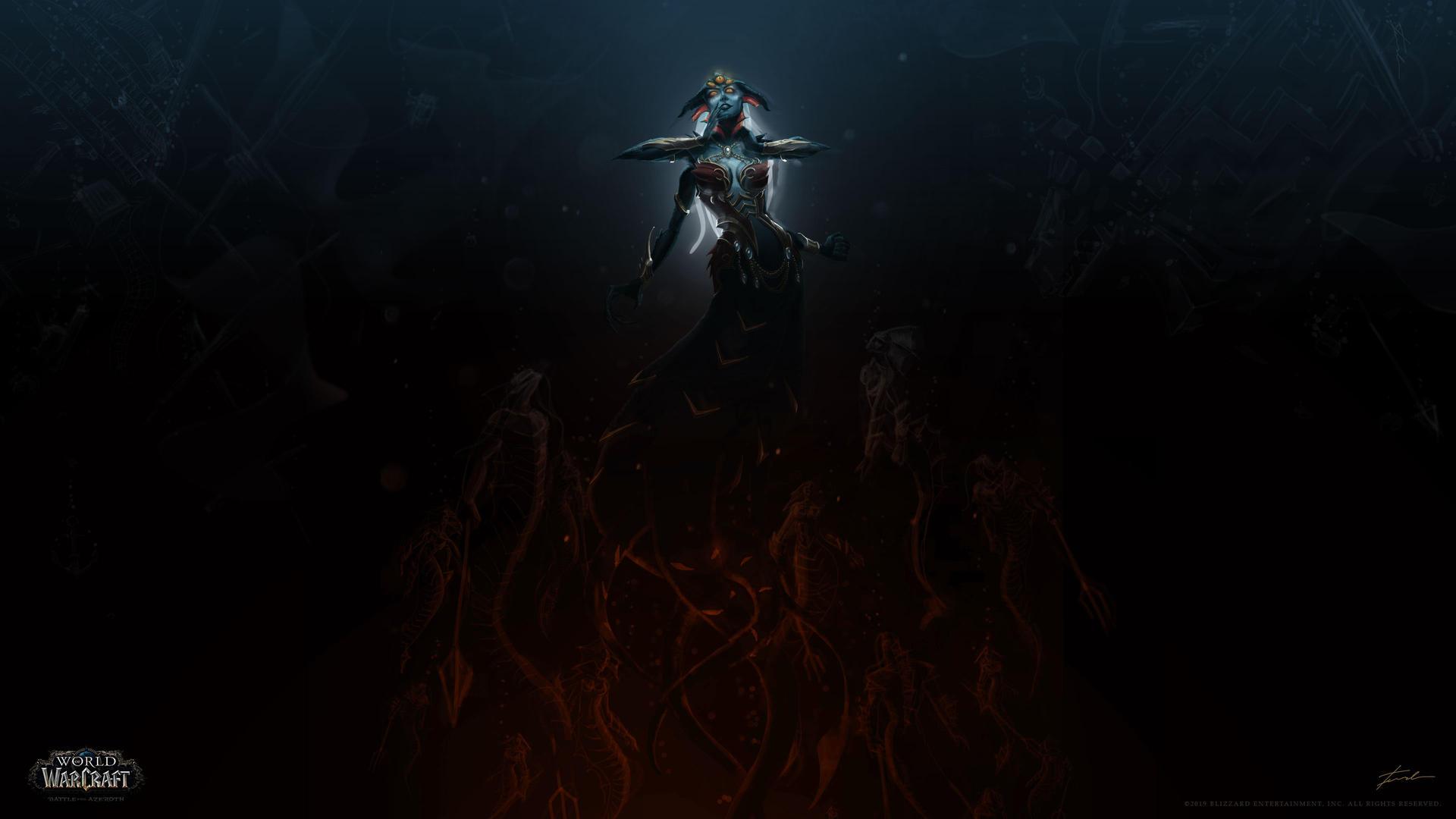 Queen Azshara: Light of Lights - 4K ...