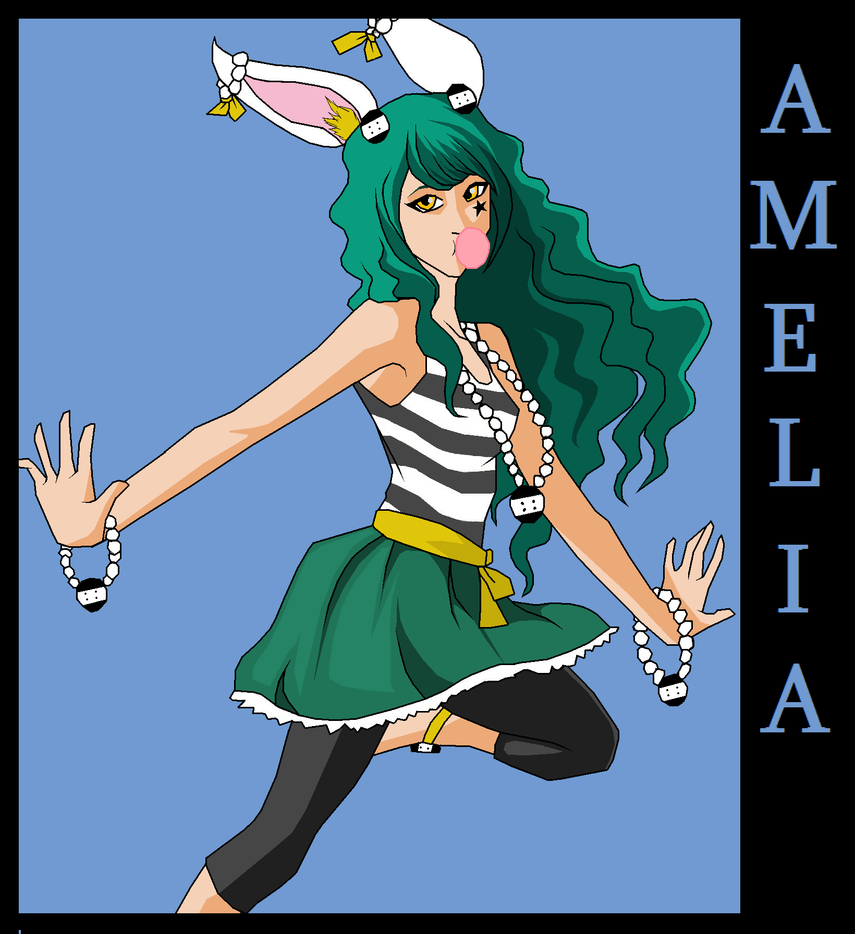 Draw Amelia Contest by OrdinarySnowflake