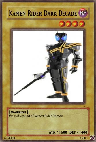 Kamen Rider Dark Decade by wheatman3 on deviantART