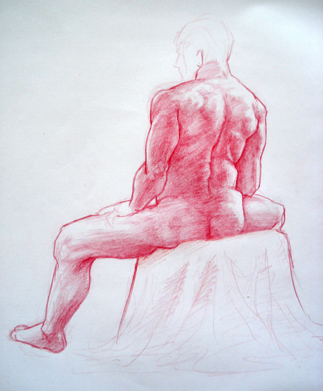 how to become a life drawing model