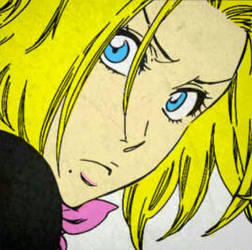 Bleach - Rangiku Matsumoto Manga Cap - Colorized