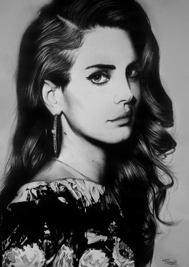 Lana Del Rey by tomwright666