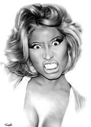 Nicki Minaj by tomwright666