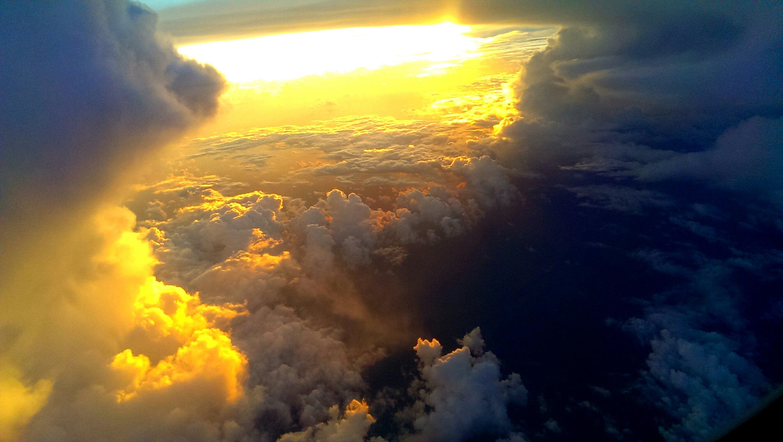 the burning sky by jannekloeffler