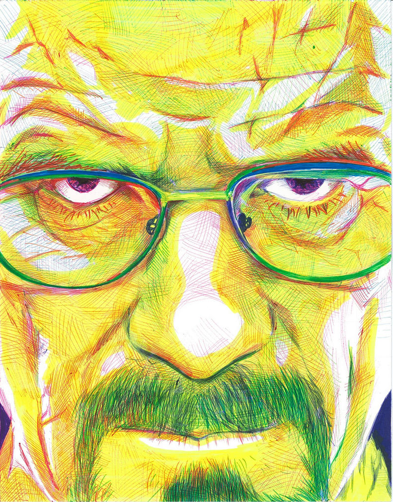 Walter White by opeyuvadown