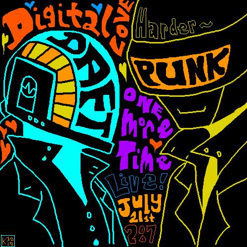 Daft Punk Design By Koolaid