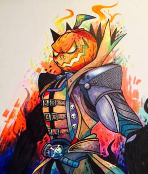 Pumpkin King Reaper