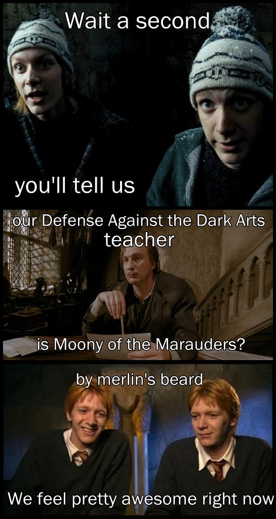 Our Defense Against The Dark Arts Teacher By Lehollywood On Deviantart