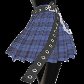 [mmd \ sims 4] pleats mini skirt with chain belt