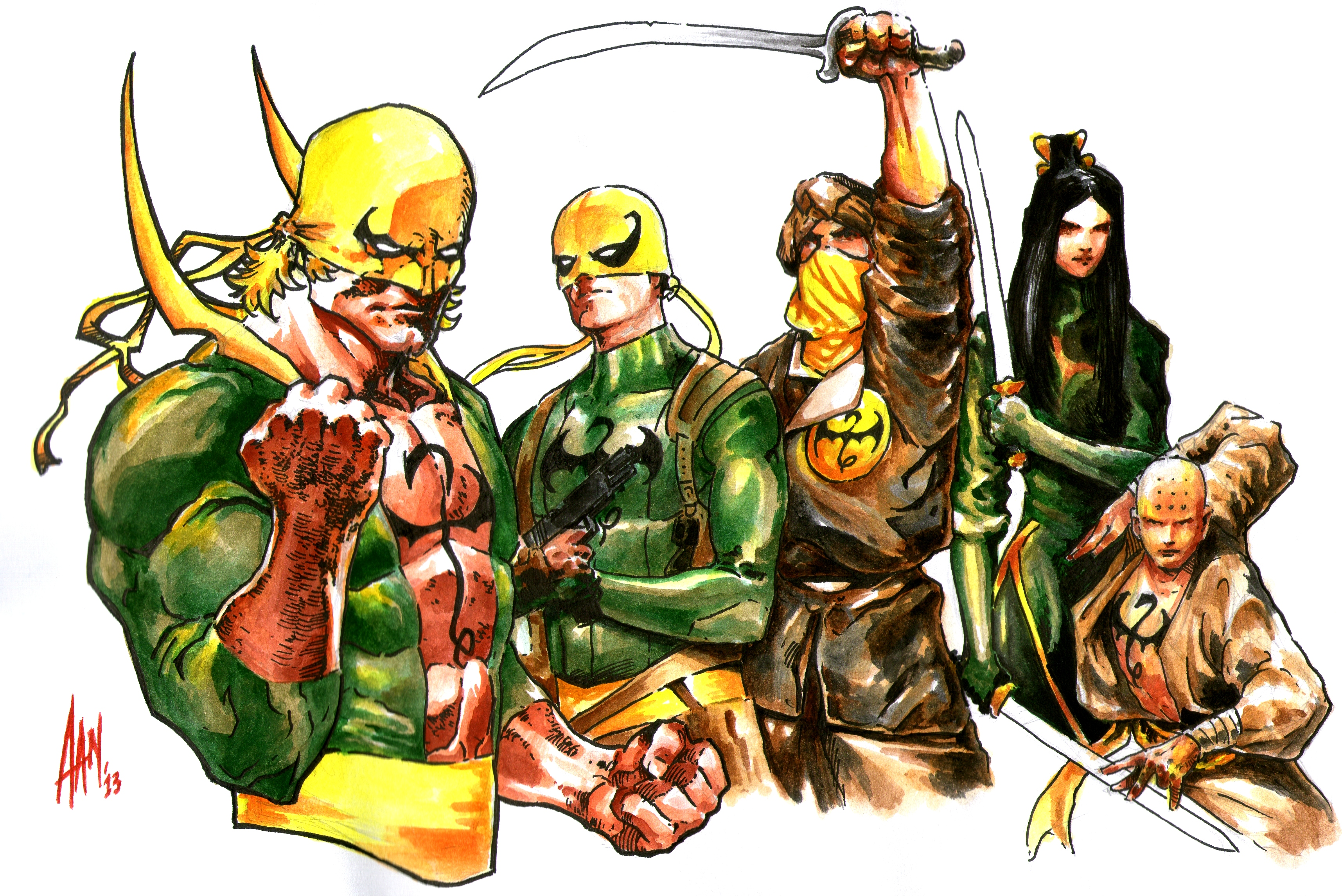 Iron Fist Legacy By Aangrafis On Deviantart