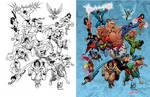 Indonesian Super Heroes.