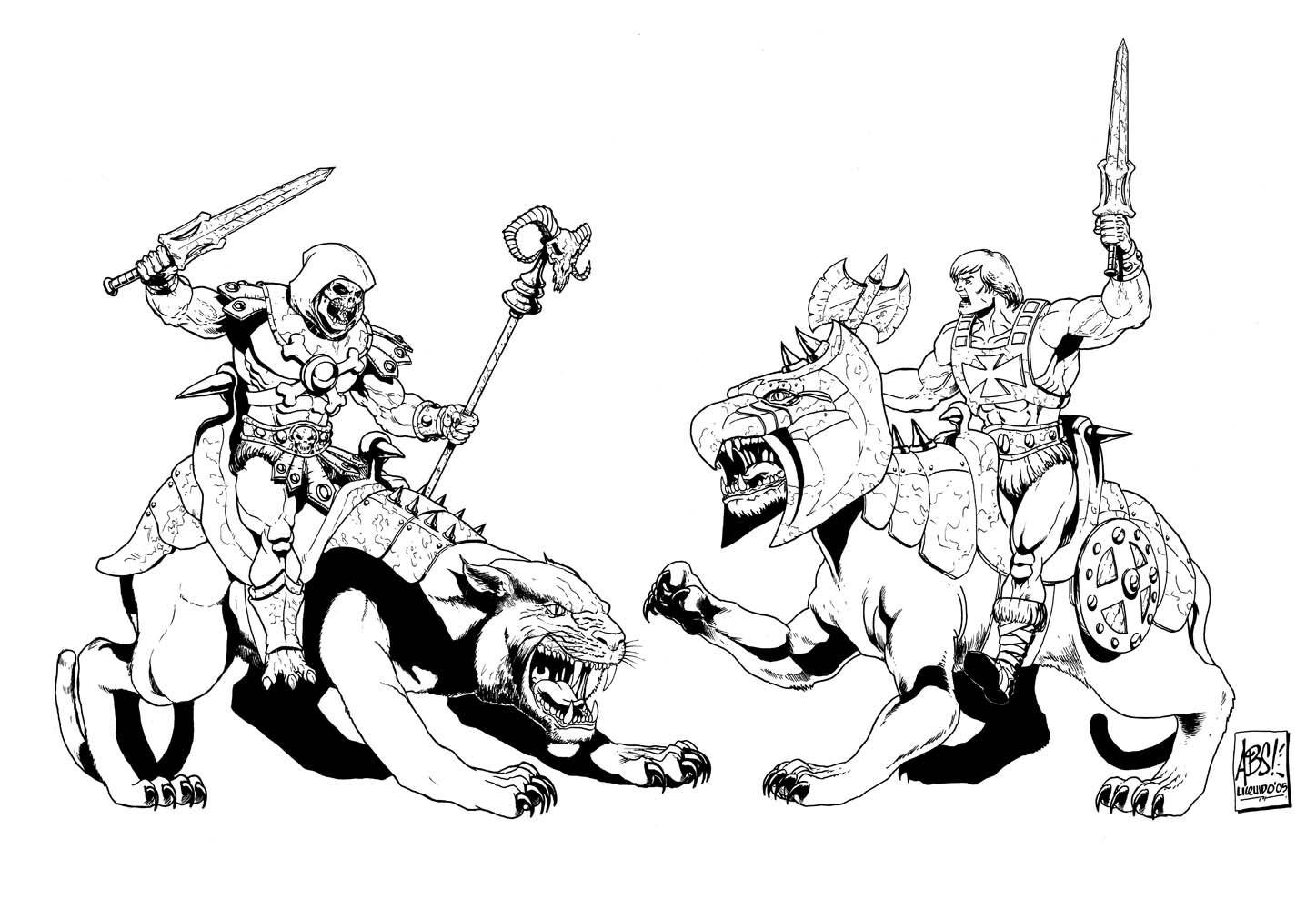 147 Best COLORING BOOK PAGES of the MOTU/POP Universe images ... | 1000x1447