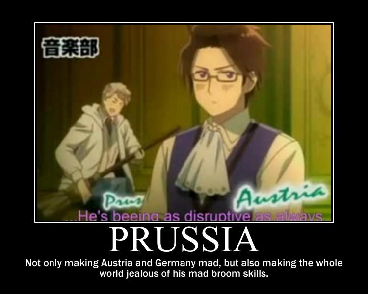 Hetalia Season 5 Prussia motivational poster by ...