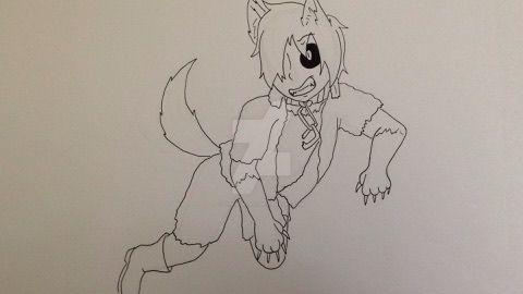 Werewolf!Rikuto by Z0MGedELR1C