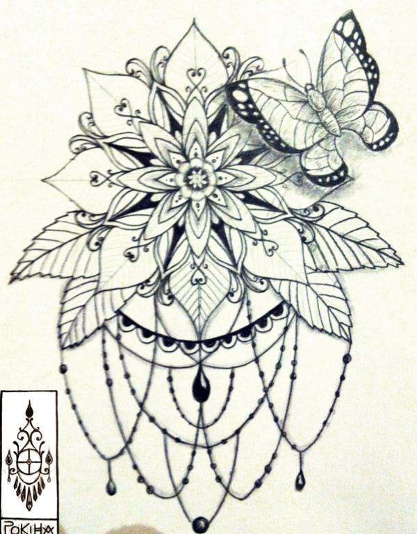 Mandala Papillon Pokiha by kittyshaun on DeviantArt