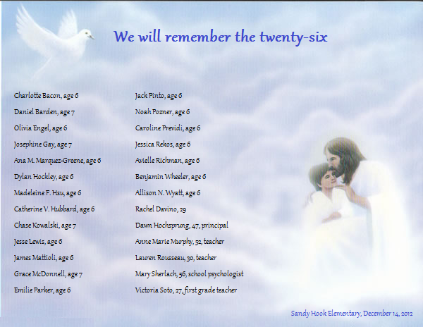 The Names of the Innocent Lives Lost by Mommy-of-Ein