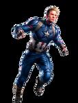Captain America (Avengers: Endgame Promo Art)