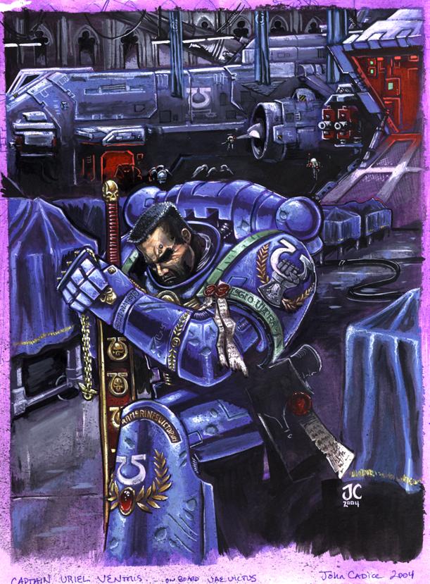 Uriel Ventris, Captain by fleshtuxedo