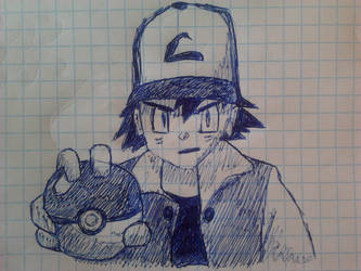 Ash choosing by b1oki