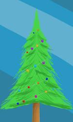 Christmas tree by b1oki