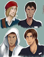 AC - Modern portraits by ChickenInTophat