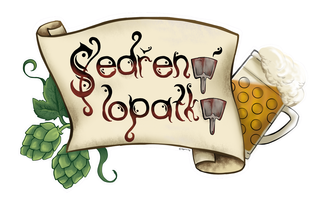 Logo Sedrene lopatky by ChickenInTophat