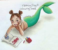 Mermay 7 colouring book