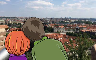 [wallpaper] I left my heart in Prague