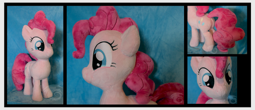 Excited Pinkie Pie Plush