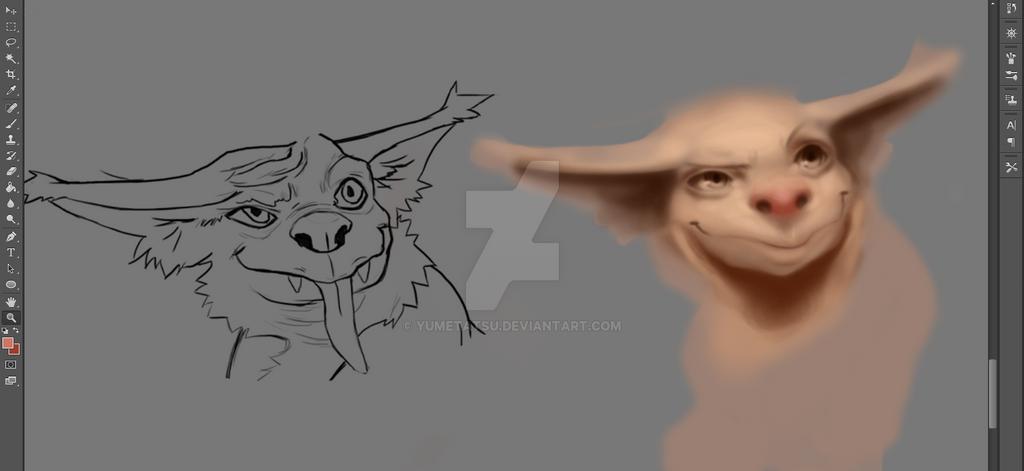 Goblin troll by YumeTatsu