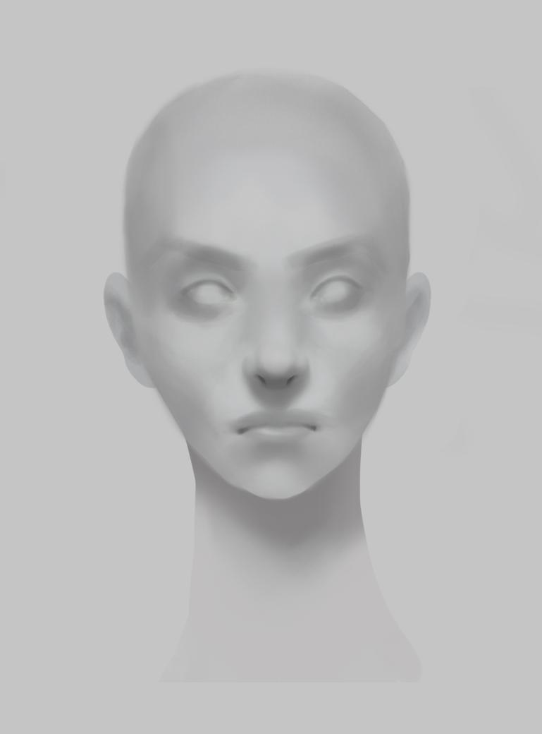 Face studie by YumeTatsu