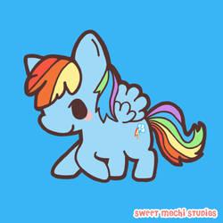 Rainbow Dash by ItsBesudesu