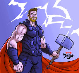 Thor by kido1987