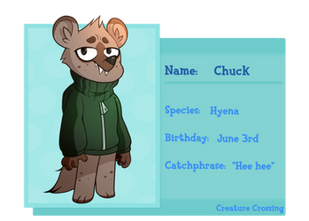 [CC] - Chuckles (Chuck) Application by Verastophilis