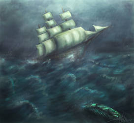 Followed in the Storm by Sarah--AS