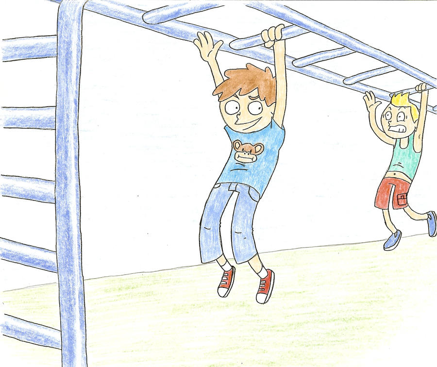Monkey Bars by Hobo-Rooster on DeviantArt