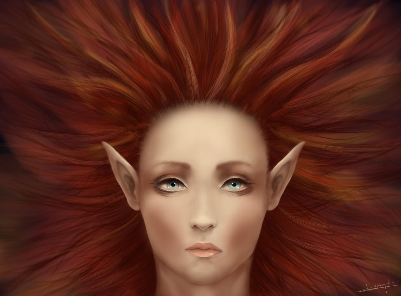 Elf's Face by AymericTP