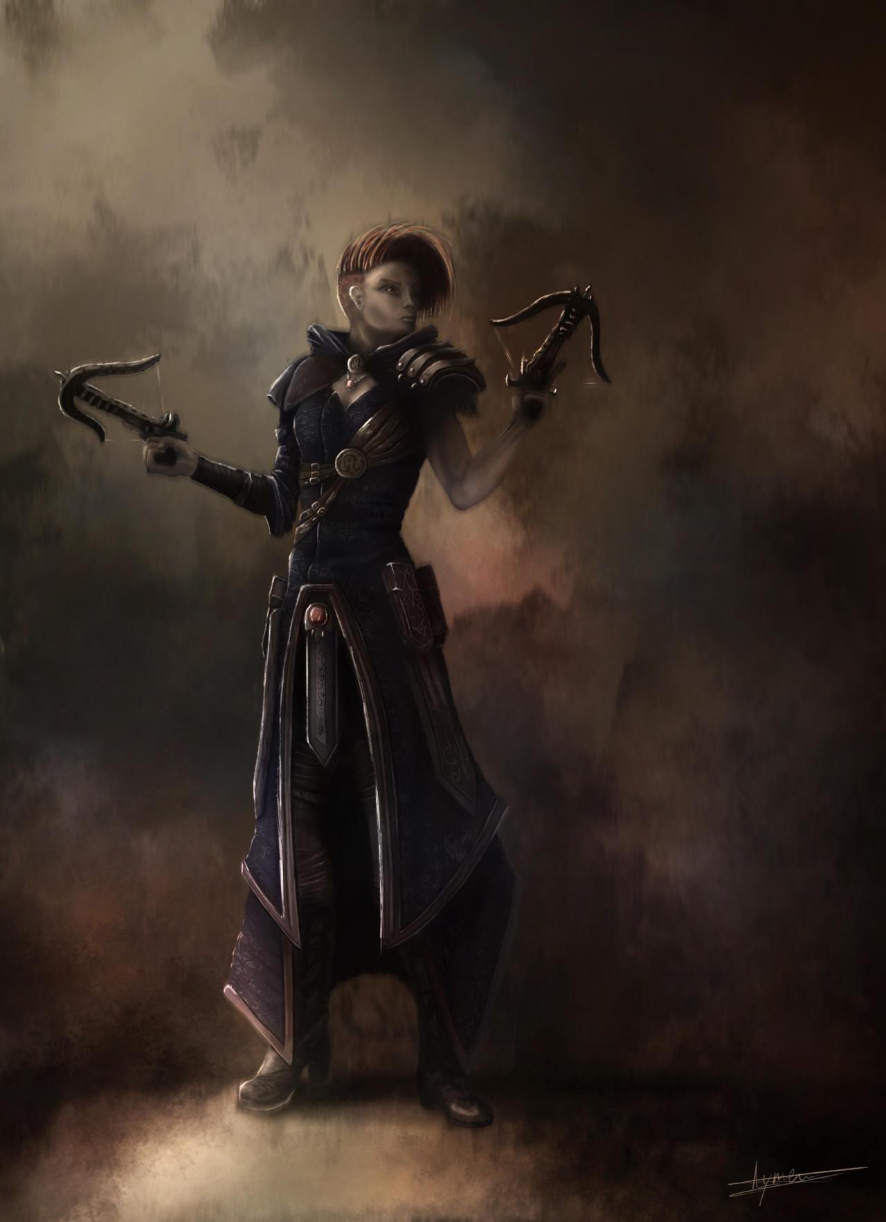 Demon Hunter by AymericTP