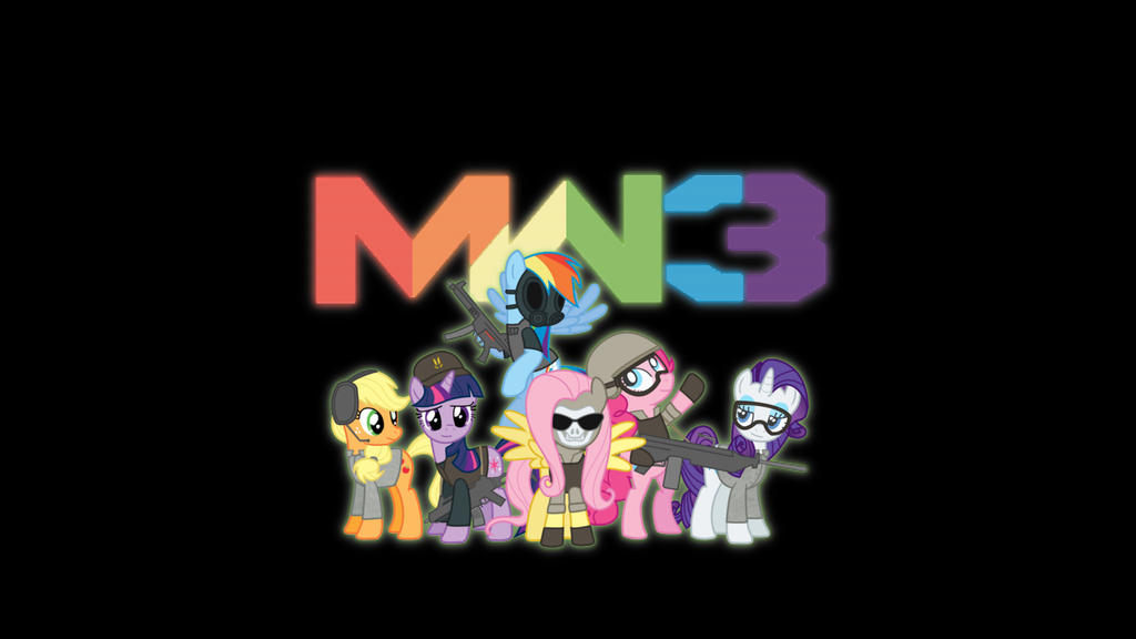 Mane Six Mw3 Wallpaper By JaketheBrony00