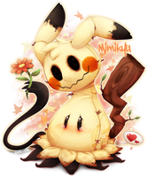 .:Lonesome Mimikyu:. by MATicDesignS