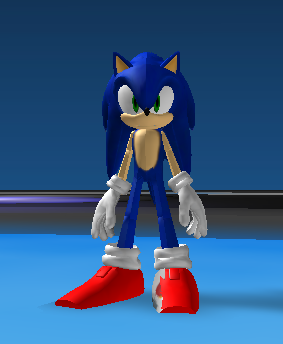 Sonic The Hedgehog 06 Model Roblox By Sonicthedeviant On Deviantart