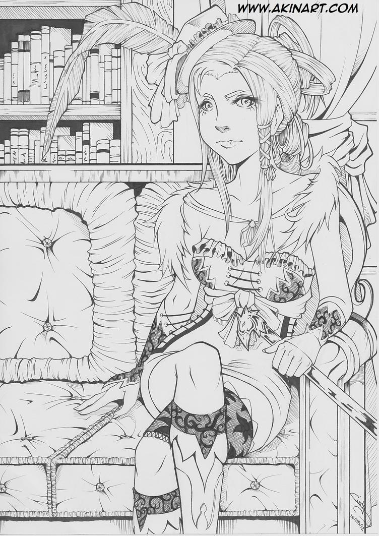 Lady's Life Line21 by Akina-art