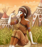 Tribal filly by JeneryFilly