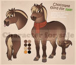 Chocolate fjord for sale! (closed) by JeneryFilly