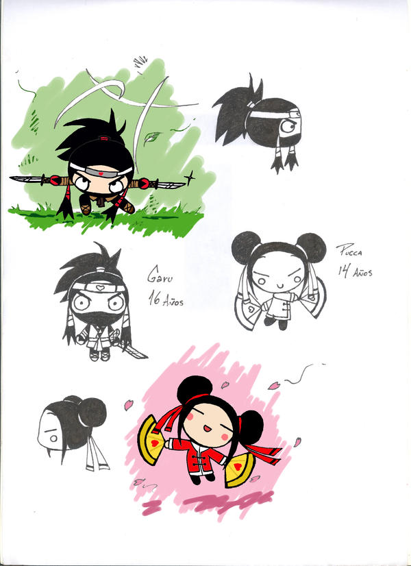 Pucca y Garu crecieron by Angelus19 on DeviantArt