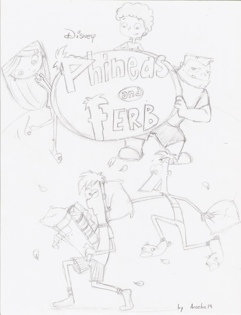 Phineas Y Ferb FAN COMIC by Angelus19